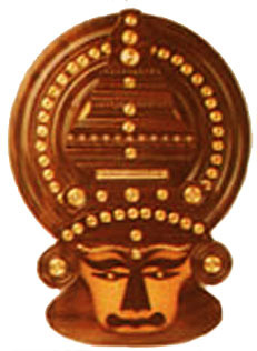 Crafts Of Kerala Rosewood Kathakali Head Indian Handicrafts
