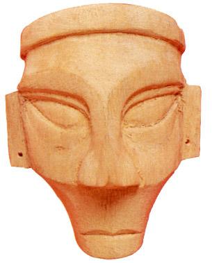 Crafts Of Nagaland Wood Carving Decorative Mask Indian