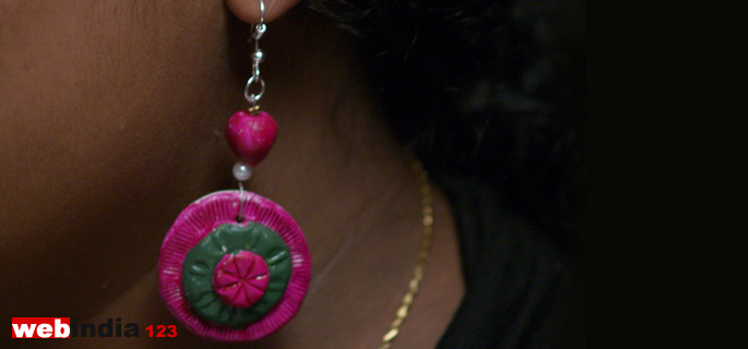 M Seal Earring How To Make M Seal Earring Craft