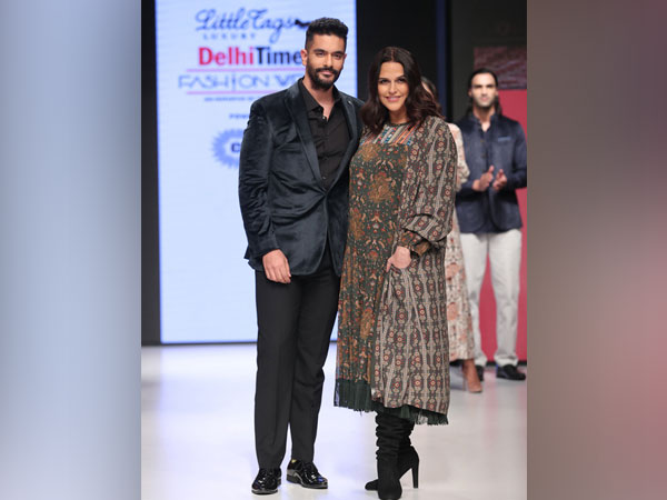 Marks & Spencer showcases India Festive Fusion collection with showstoppers Neha Dhupia and Angad Bedi