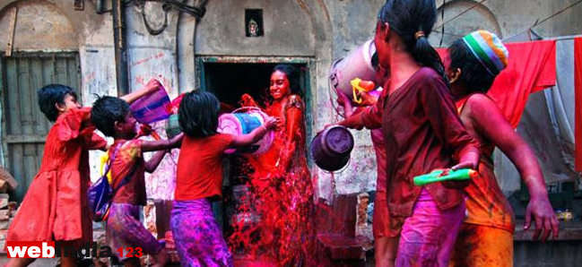 Calendar Holi : Holi the festival of colours webindia