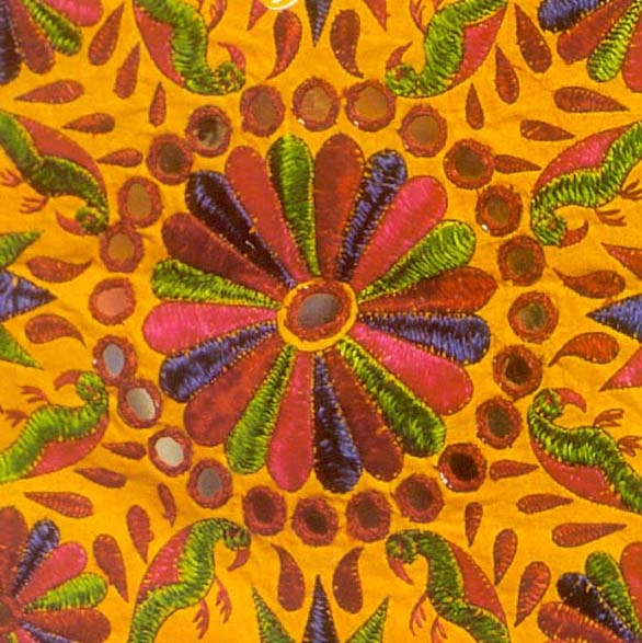 Indian Kutch Embroidery