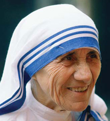 mother teresa entry into the world place