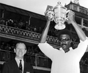Clive Lloyd lifts first world cup