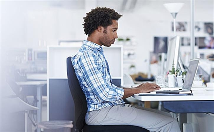 Sitting for long hours takes a toll on health -Sit Straight at work