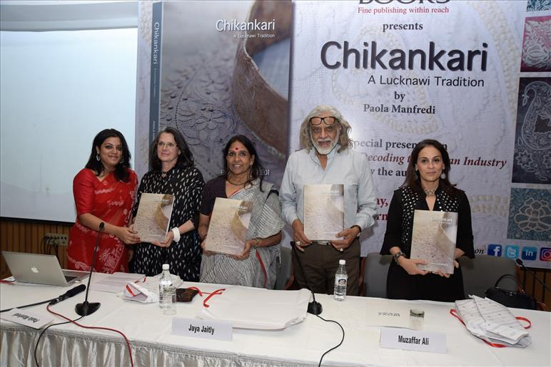 New book takes us a step closer to Lucknow - and Chikankari