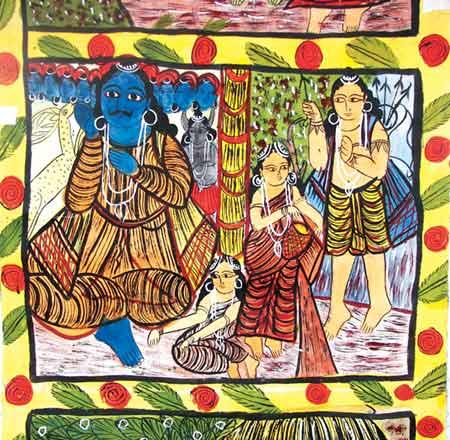 Bengal scroll paintings have enough admirers to ensure survival