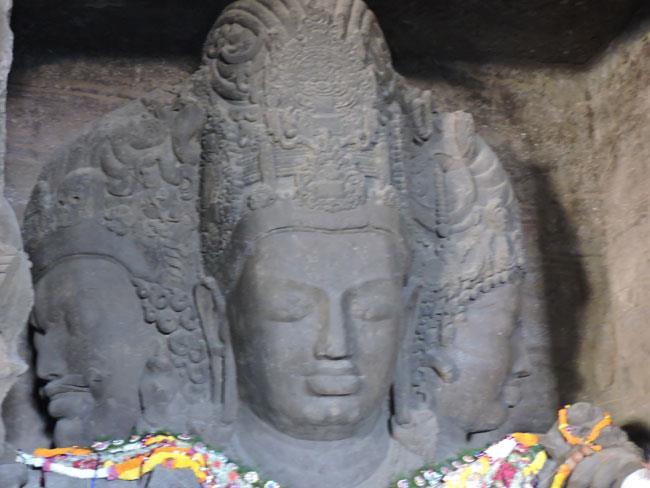 Mahesh Murti Shiva, Elephanta caves, Mumbai