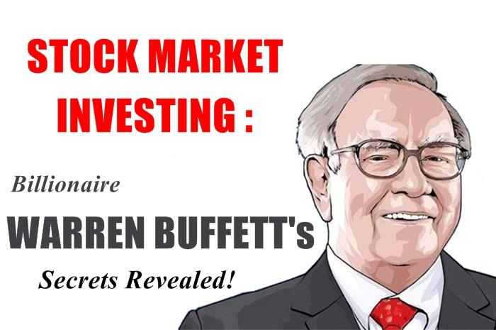 7 Secrets of Investing the Warren Buffett Way!