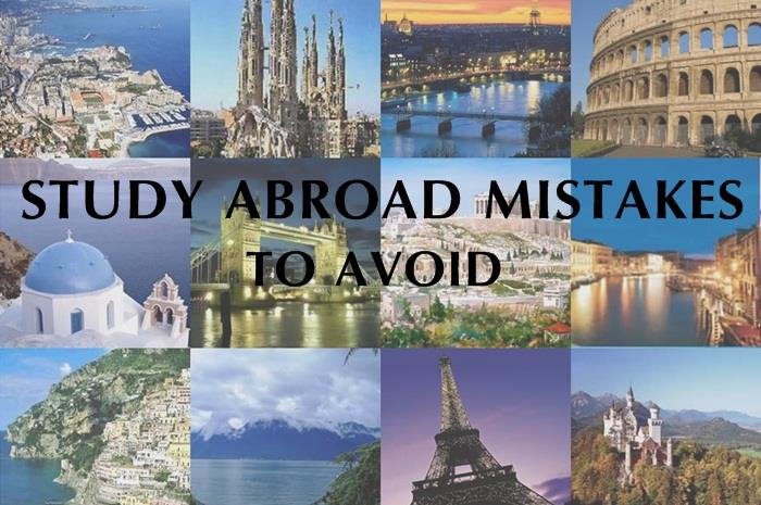 Common Mistakes Students Make In Choosing The Overseas Study Destination