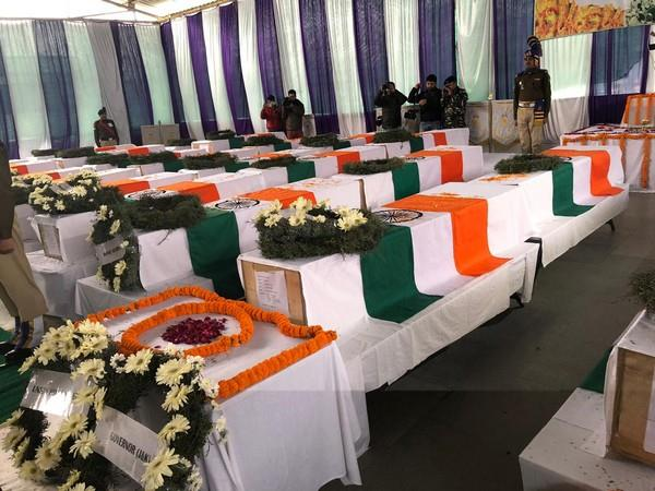 Pulwama attack: Mortal remains of bravehearts arrive amidst anti-Pak slogans
