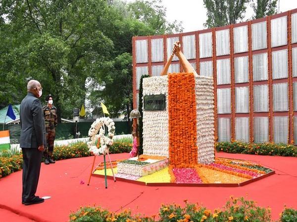Kargil Vijay Diwas: President Kovind to pay homage to armed forces at Dras
